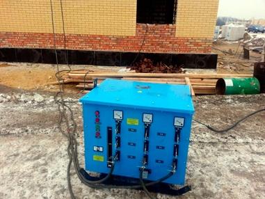 аренда трансформатора для прогрева бетона