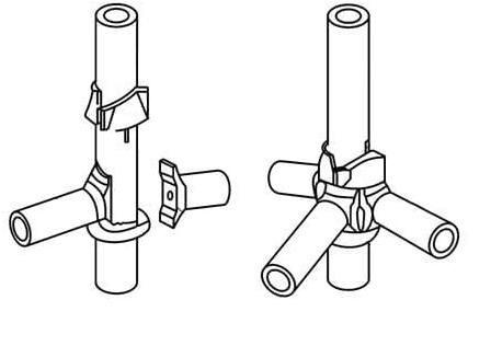 Объемная опалубка Cup-Lock