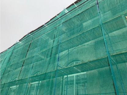 строительная фасадная сетка