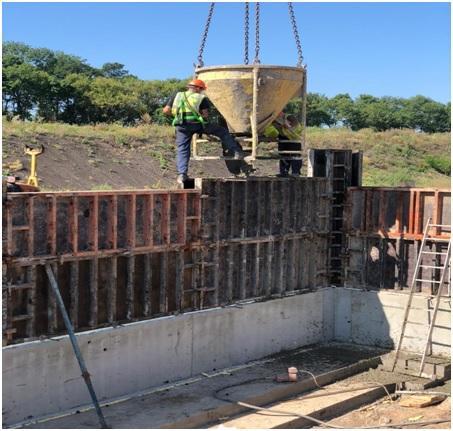 как правильно заливать бетон в опалубку